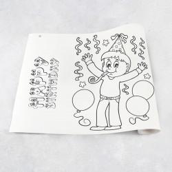 Rouleau de dessin anniversaire