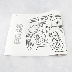 Rouleau de dessin voitures 1