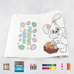 Rouleau de dessin Pâques