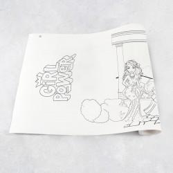 Rouleau de dessin filles 2