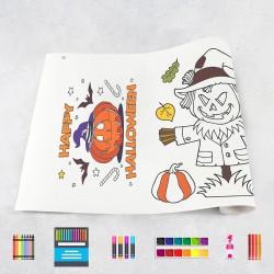 Rouleau de dessin Halloween