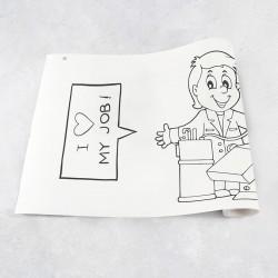 Rouleau de dessin Professions