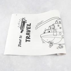 Rouleau de dessin avions