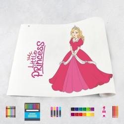Rouleau de dessin princesses