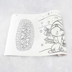 Rouleau de dessin hiver