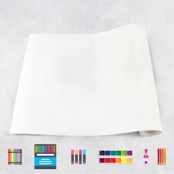 Rouleau de dessin Blanc