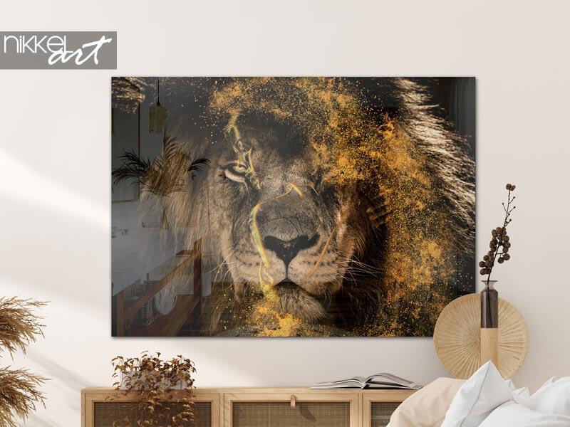 Photo sur Plexiglas Fenna van der Vliet - Golden Lion