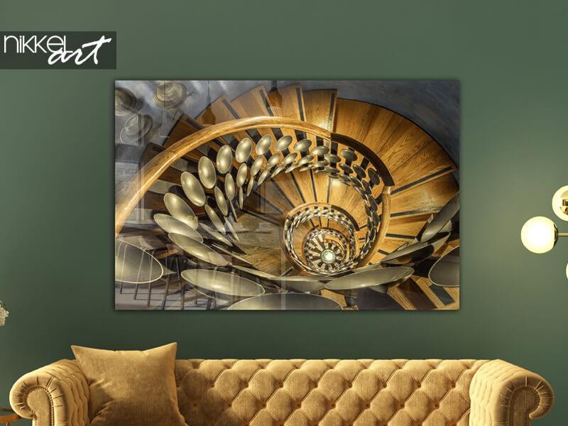 Photo sur Plexiglas Peter Odekerken - Magical Staircase