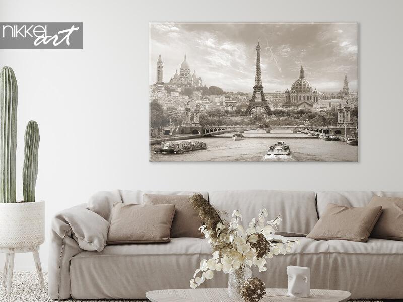 Photo sur toile Paris en vue unique