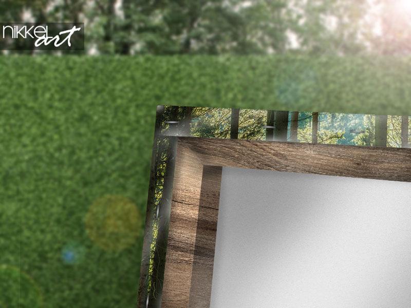 Comment accrocher un poster de jardin sans finition?