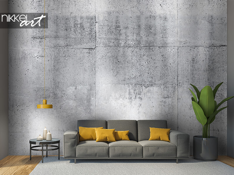 Papier peint mural Mur de béton gris