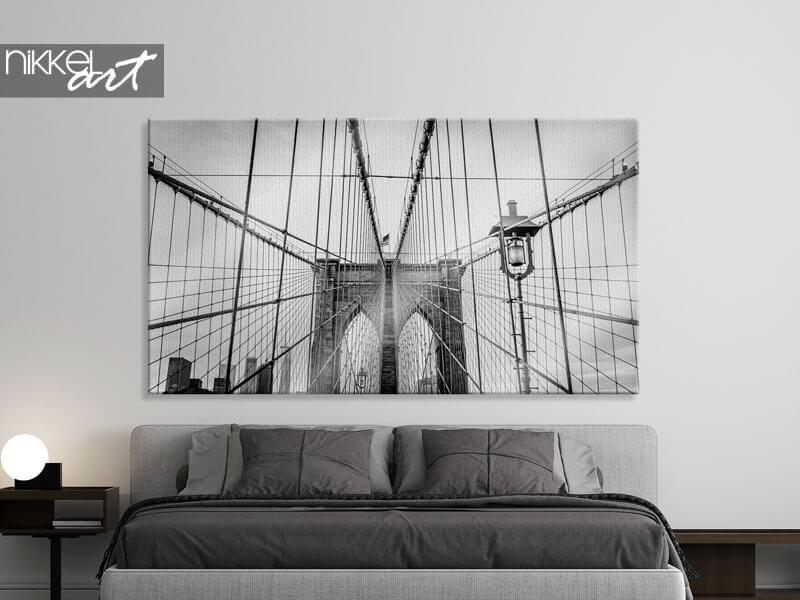 Photo sur toile Brooklyn Bridge in New York