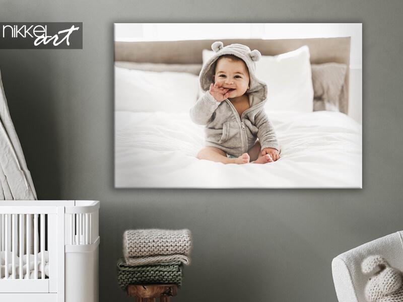 Photos de bébé sur toile