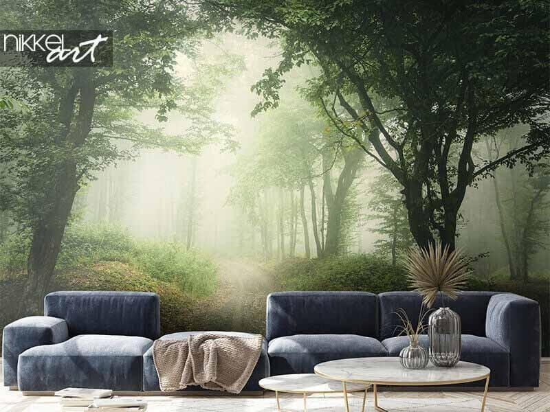 Faites entrer la nature dans votre maison avec le papier peint photo de paysage