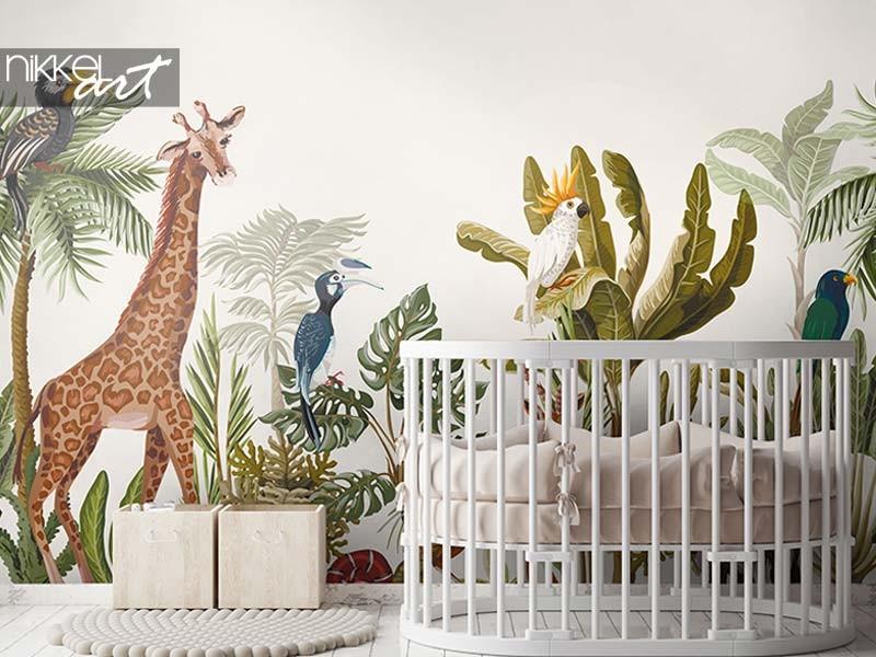 Papier peint photo inspiration pour la chambre des enfants