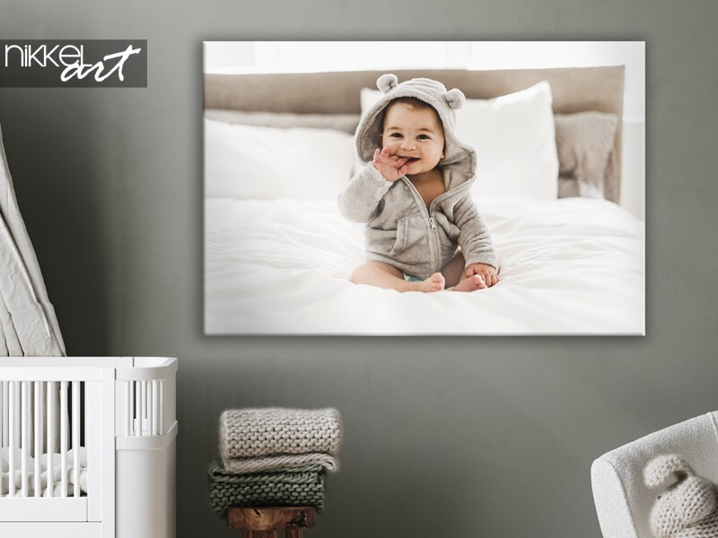Imprimez vos photos de bébé ou de grossesse sur toile