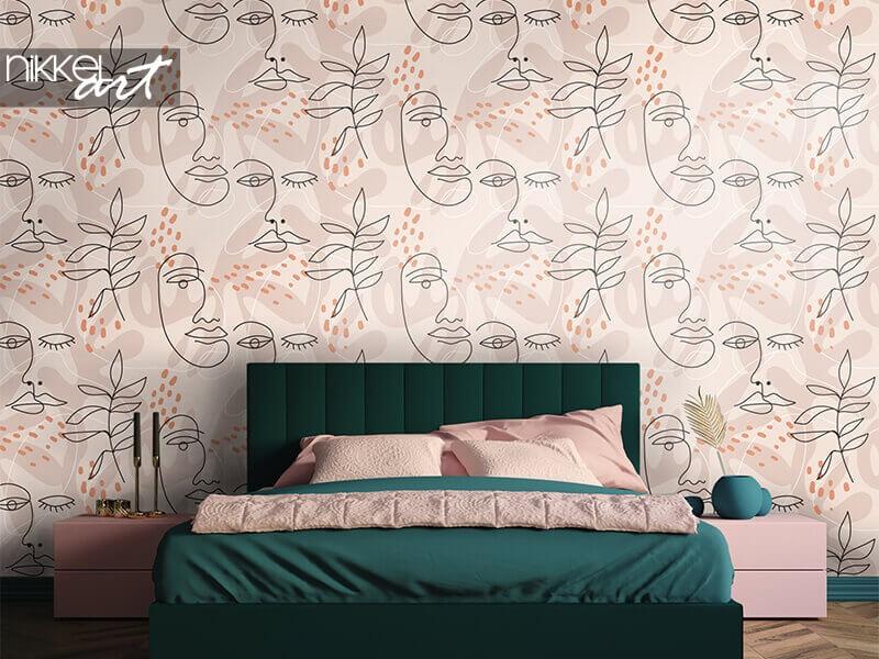Décorez votre chambre à coucher avec du papier peint photo