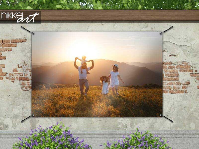 Commandez un poster de jardin avec votre photo personnelle