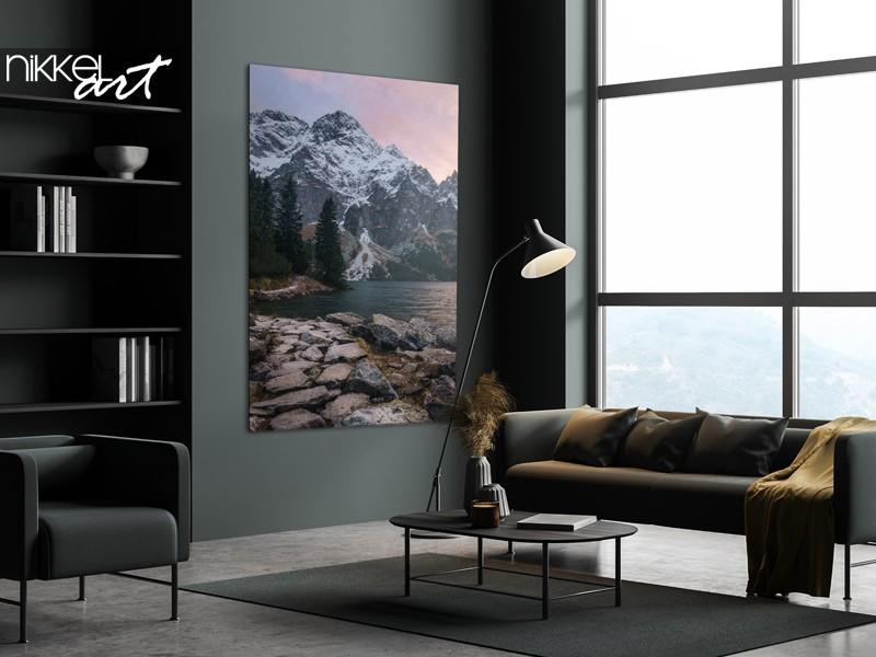 Idée de vivre : des tirages photo avec des montagnes