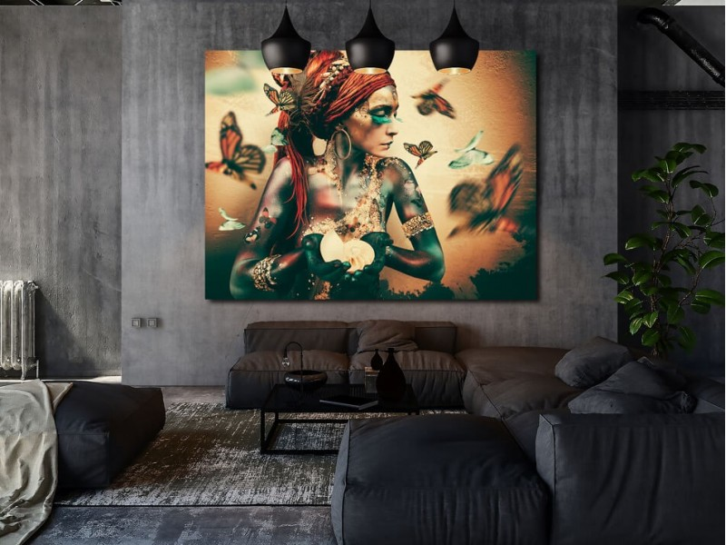 Conseil intérieur: art exclusif de Jaime Ibarra
