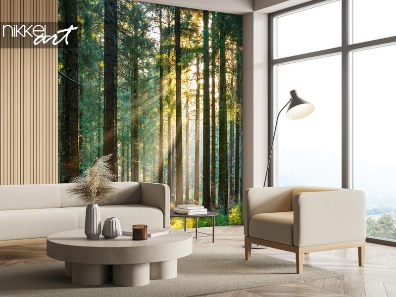 Commandez la plus belle décoration murale forêt ici