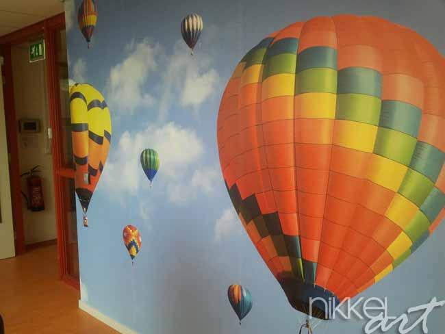 papiers peints montgolfi res. Black Bedroom Furniture Sets. Home Design Ideas