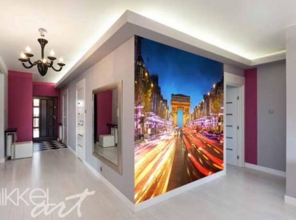 Papiers peints photo Arc de triomphe Paris