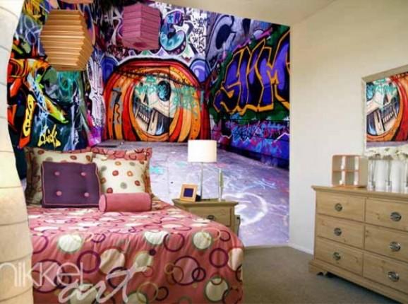Papiers peints photo Graffiti