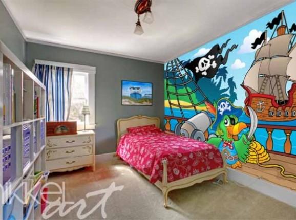 Papiers peints photo Pour enfants Pirates