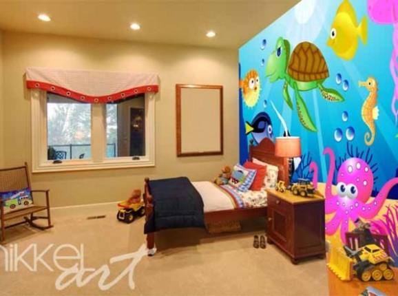 Papiers peints photo Pour enfants Sous-marin