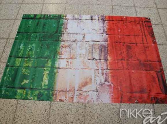 Photo sur Bache drapeau Italie