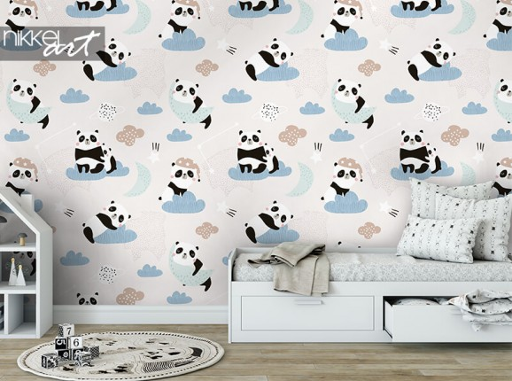Papier peint Panda
