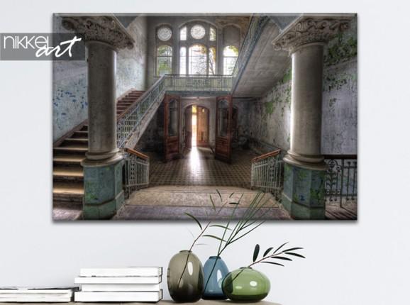 Photo du sanatorium de Beelitz sur toile