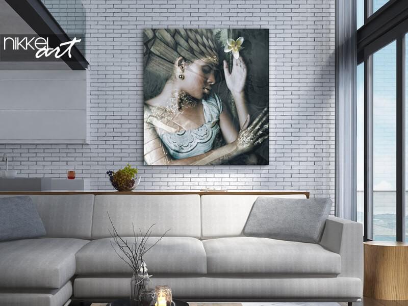 Photo d'un ange en aluminium