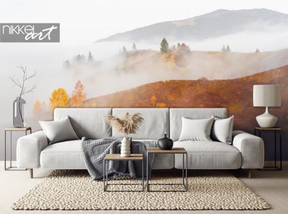 Papier peint photo paysage d'automne