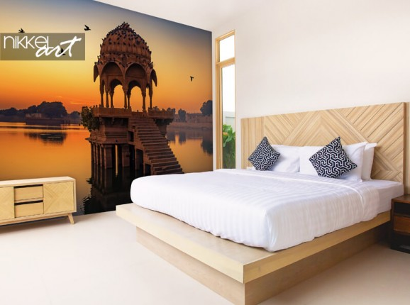 L'Inde sur papier peint photo