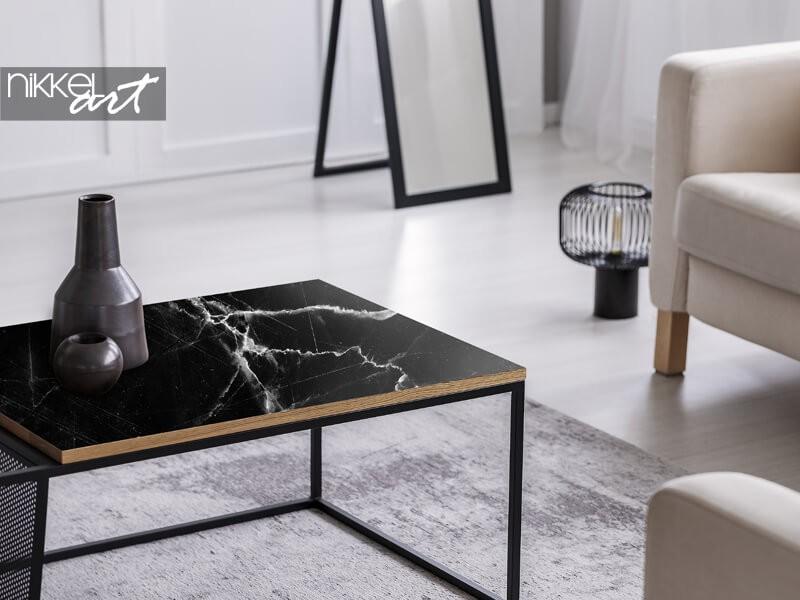Autocollant pour meuble en marbre