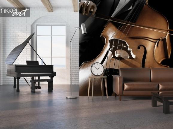 Studio avec Instrument de Musique Murale