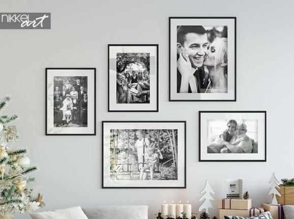 Mur de poster avec vos propres photos