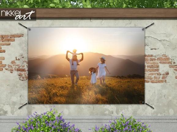 Poster de jardin avec votre propre photo