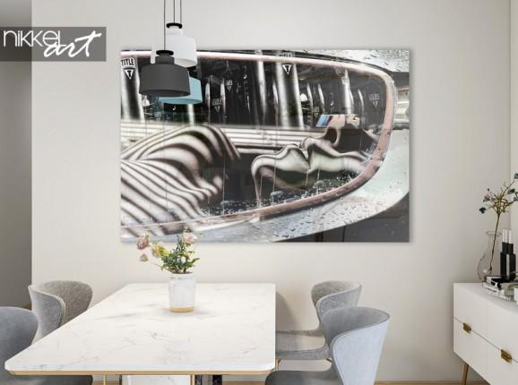 """""""Grey lines"""" Fenne van der Vliet on acrylic"""
