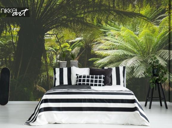 Chambre avec Papier Peints Jungle