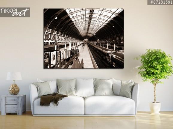 Gare de Paddington à Londres