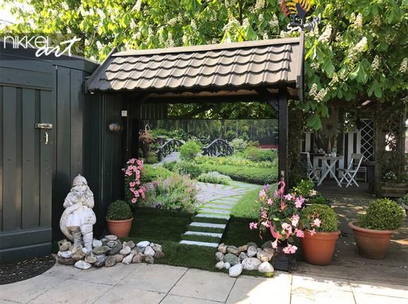 Photo sur poster de jardin d'un jardin