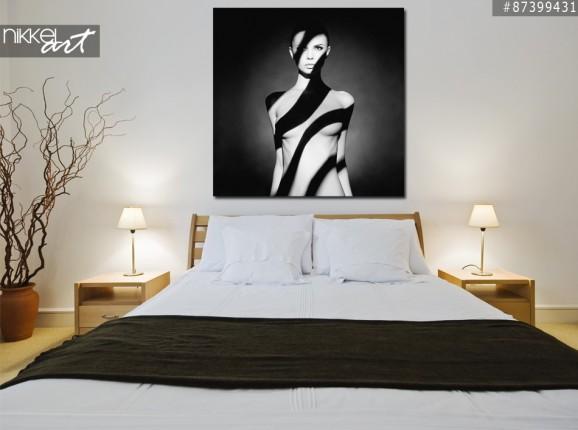 Photo sur Aluminium Portrait de jeune femme