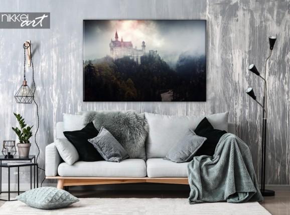 Château de Neuschwanstein sur Toile