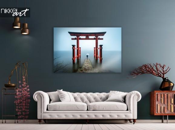 Photo Sanctuaire Hakone Japon sur Plexiglas