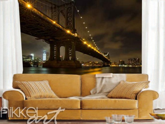 Papiers peints New York City Bridges